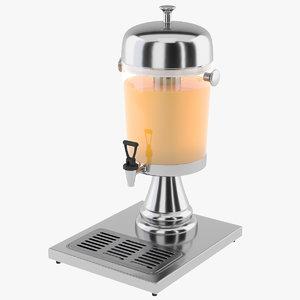 3D juice dispenser