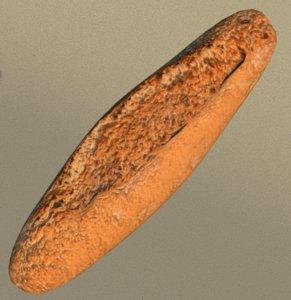 bread food 3D