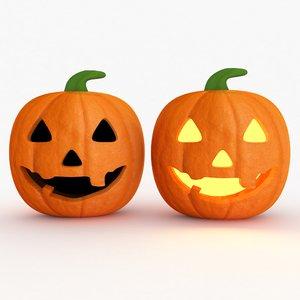 3D model halloween lights