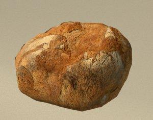 3D food bread