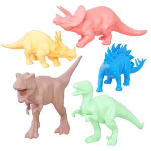 colored dinosaurs 3D model