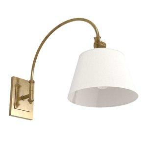 wall lamp lighting antique 3D model