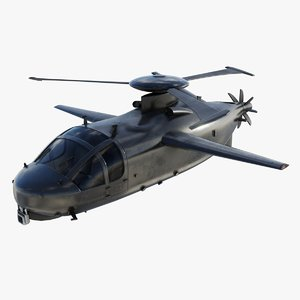 modern military plane 3D model
