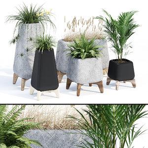 3D pot decorations model
