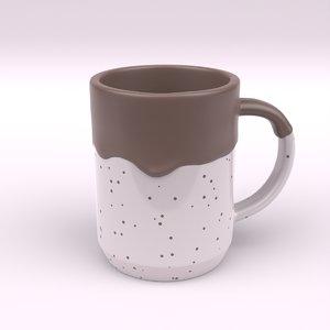 3D model mug drip