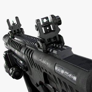 pistol g17 g22 3D model