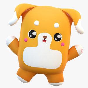 3D cute cartoon model
