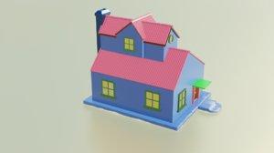 modelled 3D model