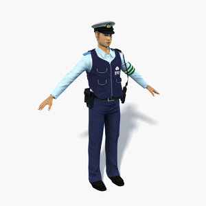 japanese police 0002 model