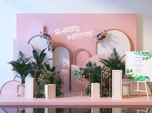 3D plants flower