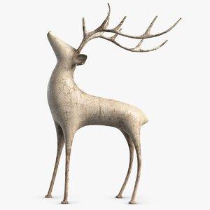 statuette design pbr model