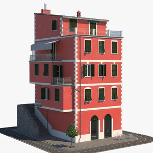 3D italy 12 architecture model