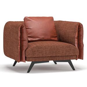 3D saddle sofa