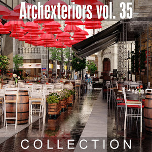 3D archexteriors vol 36 exterior model