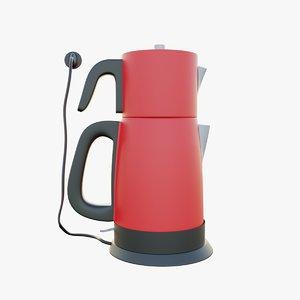 kettle teapot 3D model