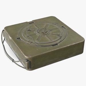3D m19 anti tank landmine