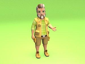 animation body 3D