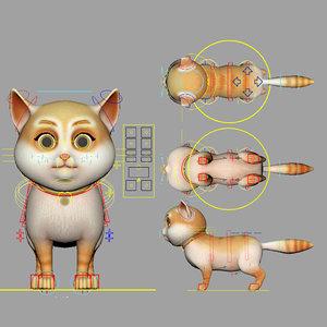 catroyal cat 3D model