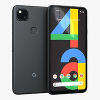 Google Pixel 4a Just Black