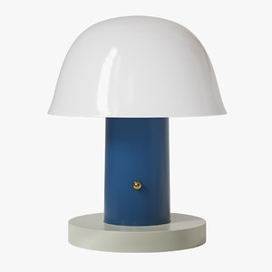 3D setago table lamp andtradition