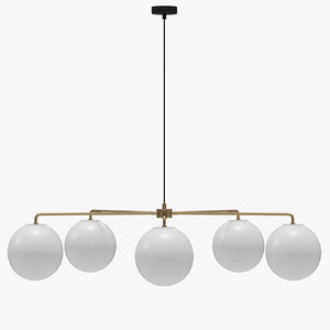 3D menu chambers chandelier 96