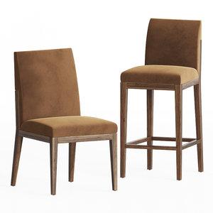 3D alia chairs cumberland