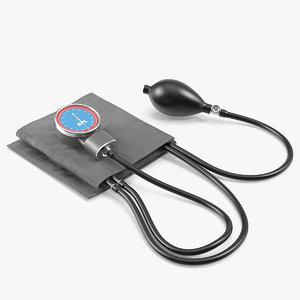 bpl blood pressure aneroid 3D