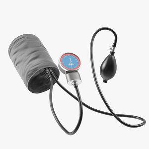 bpl manual aneroid sphygmomanometer 3D model