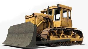 soviet tractor track 3D model