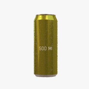 500ml drop 3D