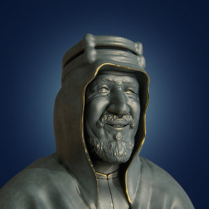 3D king abdulaziz al saud