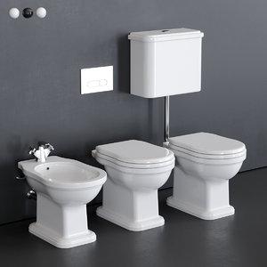 toilet efi bidet 3D