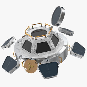 iss cupola observational module model