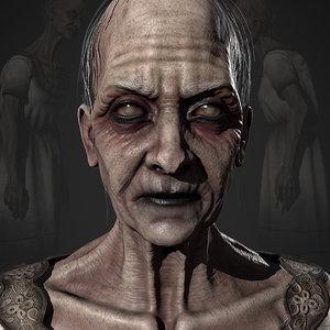 vile hag character model