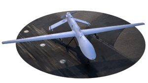 3D uav rq-1a model