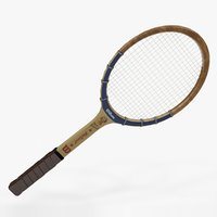 Vintage Tennis Racquet Wilson Mary Hardwick L963