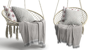 butlers paradise hammock chair 3D model