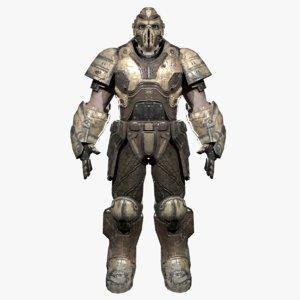 3D iron soldier model