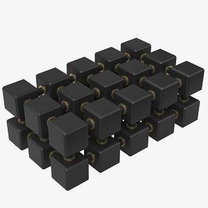 3D model neural processor