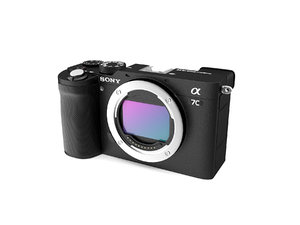 sony a7c compact full-frame 3D model