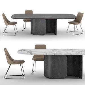 3D table mellow model