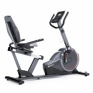 3D horizontal exercise bike hop-sport