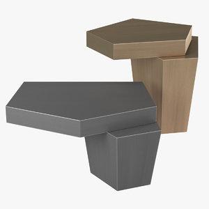 3D model eichholtz coffee table calabasas