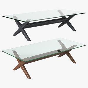 3D eichholtz coffee table maynor