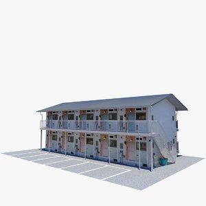 japanese building 3D model