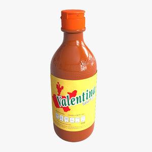 valentina mexican sauce model