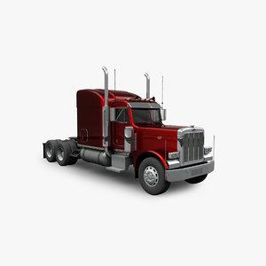 3D heavy truck