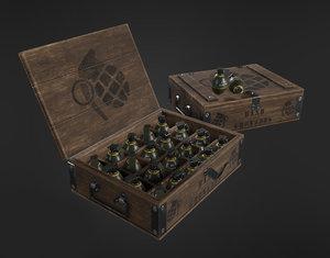 grenade - box 3D model