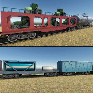 pack trains model