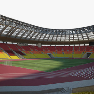 3D luzhniki stadium